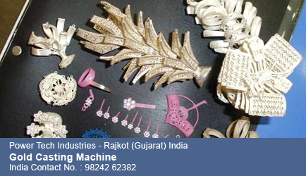 Power Tech Industries Gold Casting Machine Gold Casting